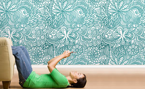 Wallpaper, Decorative panels