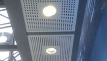 perforated metal sheet panel