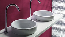 2 bowl washbasin