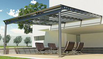 aluminium pergola