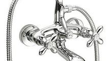 double handle shower mixer
