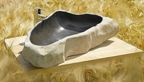 stone washbasin