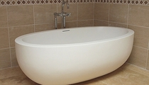 oval bath-tub
