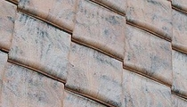 lozenge interlocking roof tile
