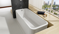 rectangular bath-tub