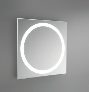 mirror with integrated lighting. illuminatedmirror an illuminated mirror has integrated lighting with i