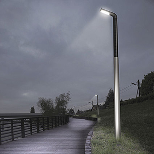 Led lamppost led street light all architecture and design an led lamp post is a tall light fixture normally used in exterior public and commercial spaces it provides long lasting energy efficient light aloadofball Image collections