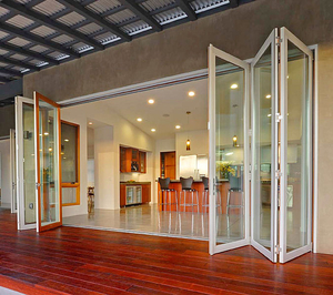 Foldable Door Design fabulous interior folding doors door design best good view types of glass folding doors of sliding A Folding Or Accordion Door Comprises Several Leaves Whose Upper Ends Slide In A Track Allowing Them To Fold Open Against One Another And Perpendicular To