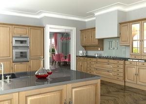 oak-kitchen