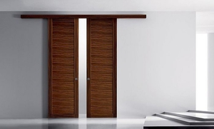 Space Saving Door sliding door - all architecture and design manufacturers - videos