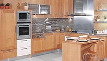 solid wood kitchen
