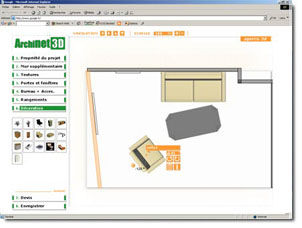 Interior design CAD software - ARCHINET3D - Maqbar Diffusion