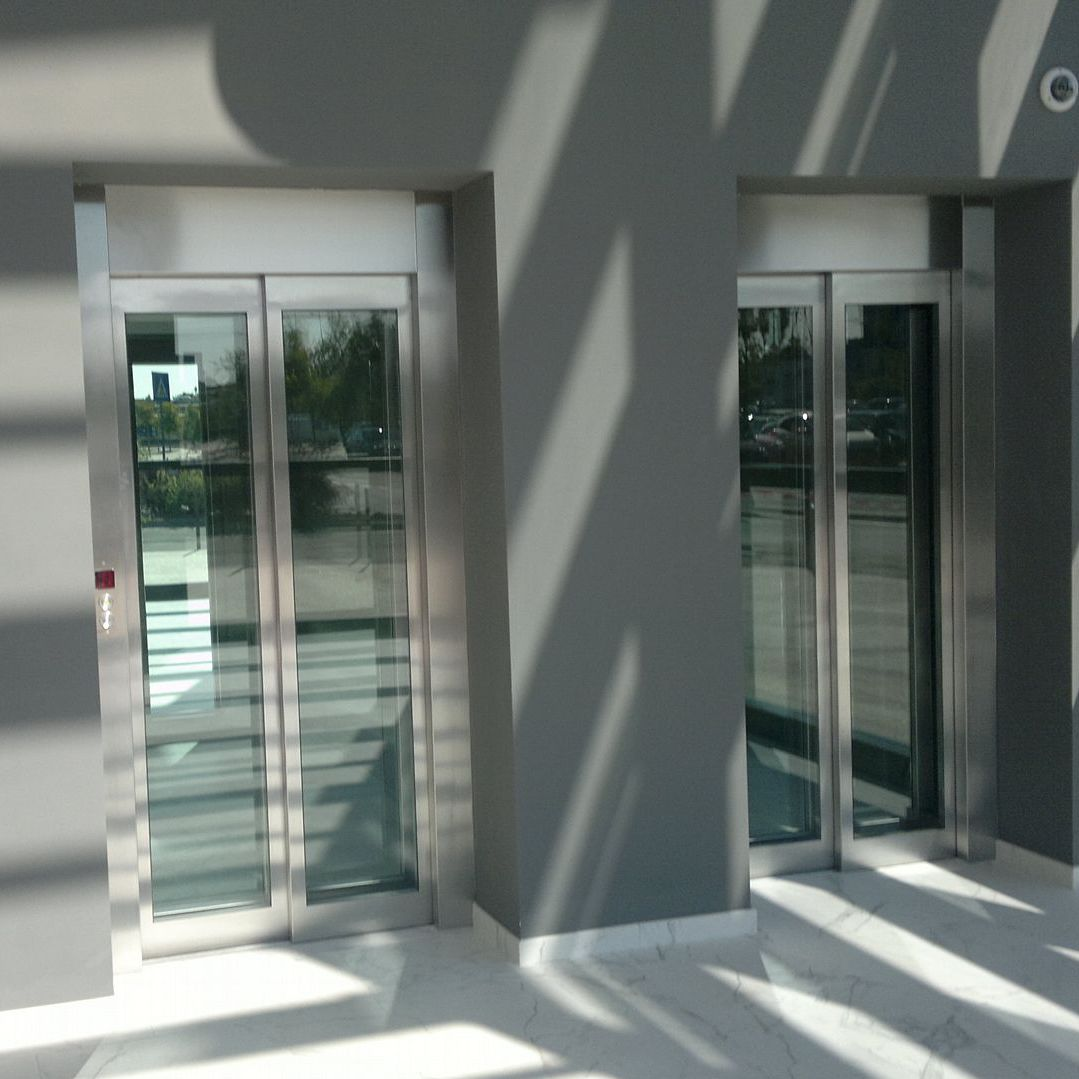 Electric elevator / commercial / home / machine room-less - MRL ...