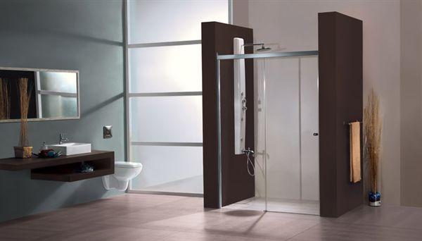 Jaquar Bathroom Partitions sliding shower screen / for alcoves - adena - jaquar - videos