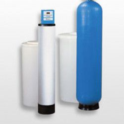 commercial water softener double e - Commercial Water Softener