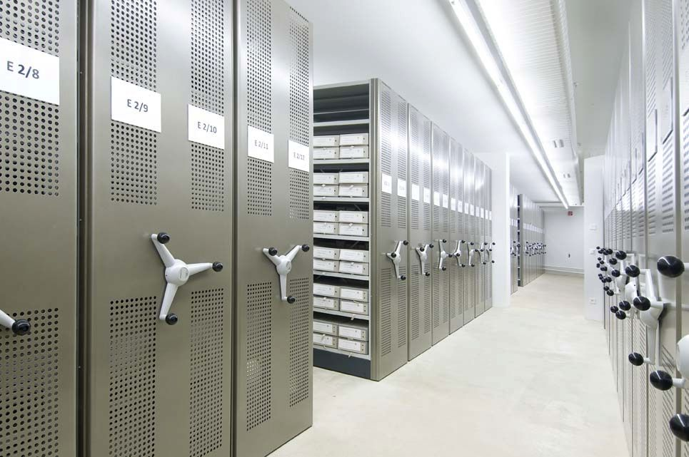 Bruynzeel Storage Systems.Storage Mobile Shelving For Offices Archival Mechanical