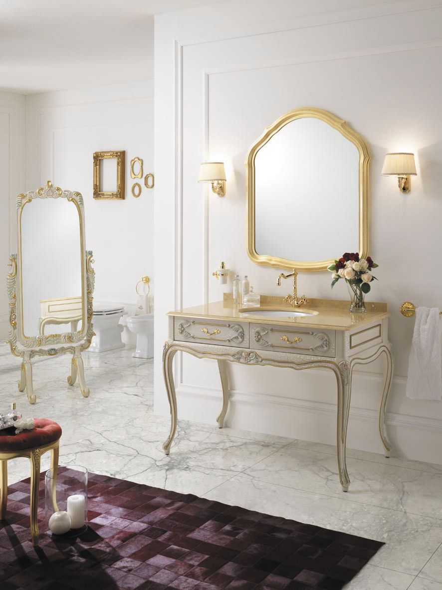 ... Baroque Style Bathroom / Solid Wood ...