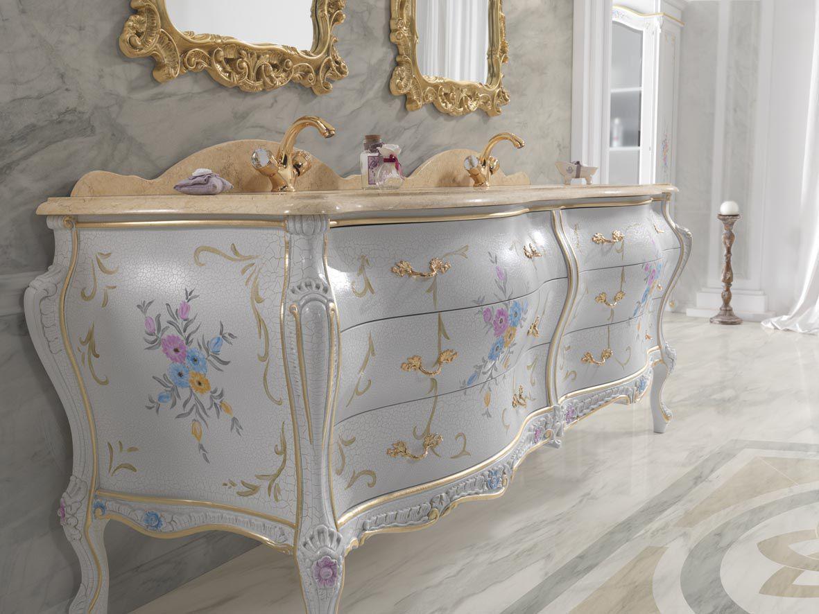 Baroque Style Bathroom / Solid Wood ...