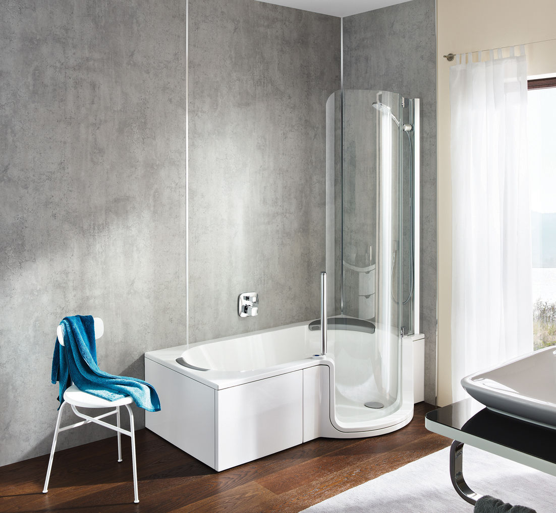 ... Built In Bathtub Shower Combination / Other Shapes / Composite / Walk In  ...