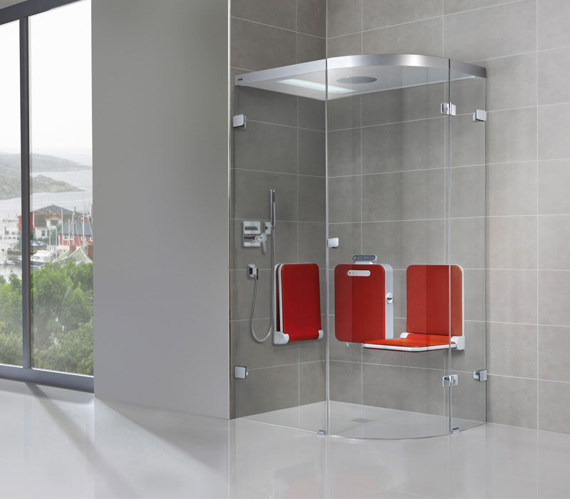 Steam Shower Glass For Alcoves With Hinged Door Bodysoul