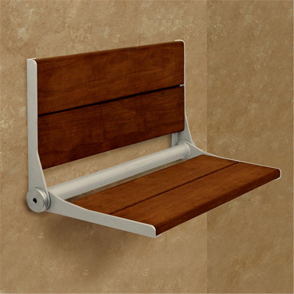 Folding shower seat / commercial / home - INVISIA SERENA - AMERICAN ...