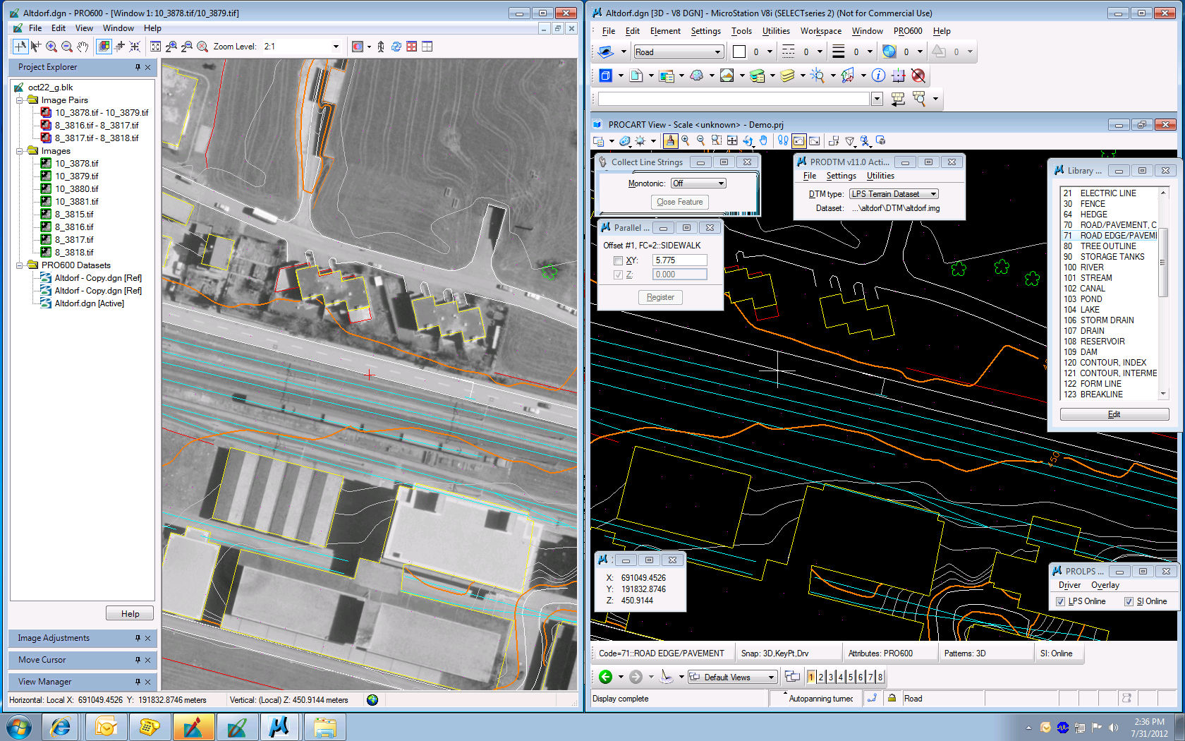 Mapping Software For Steel Structures PRO Intergraph - 3d mapping software