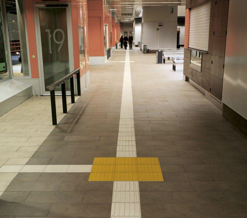 Indoor tile / outdoor / floor / ceramic - TACTILE - revigres