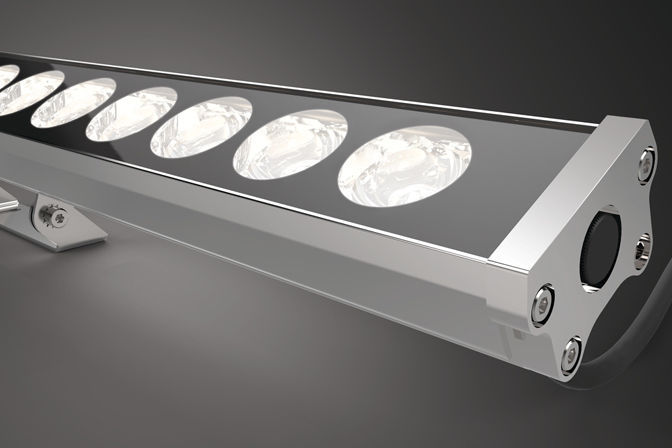surface mounted light fixture led linear outdoor lira - Outdoor Surface Mount Light