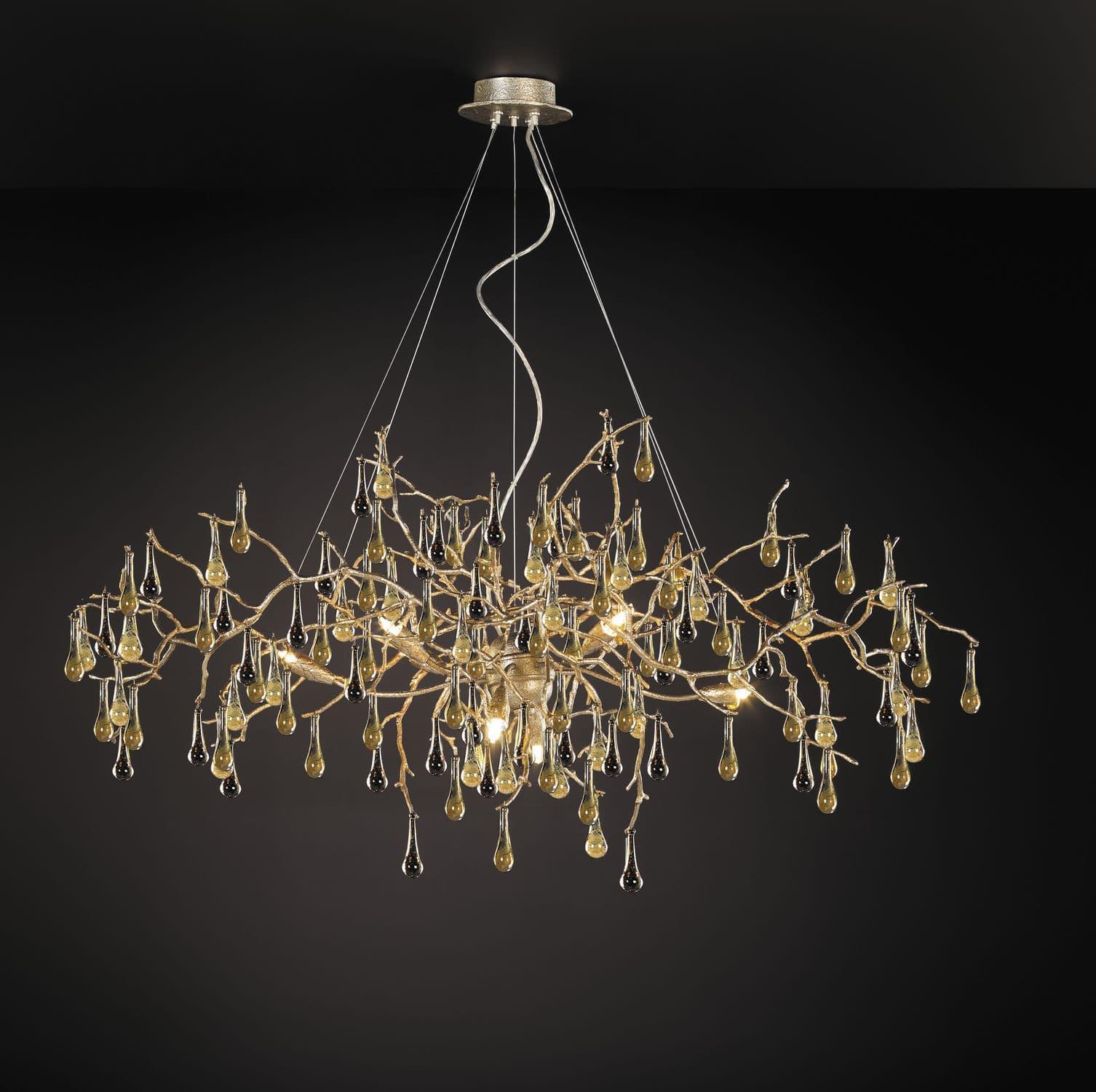 Traditional chandelier glass bronze halogen bijout traditional chandelier glass bronze halogen bijout ct32688 arubaitofo Image collections