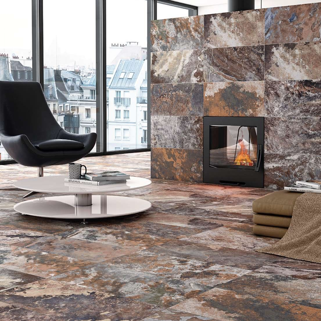 Delightful Indoor Tile / Living Room / Floor / Wall   SLATE GP 0367