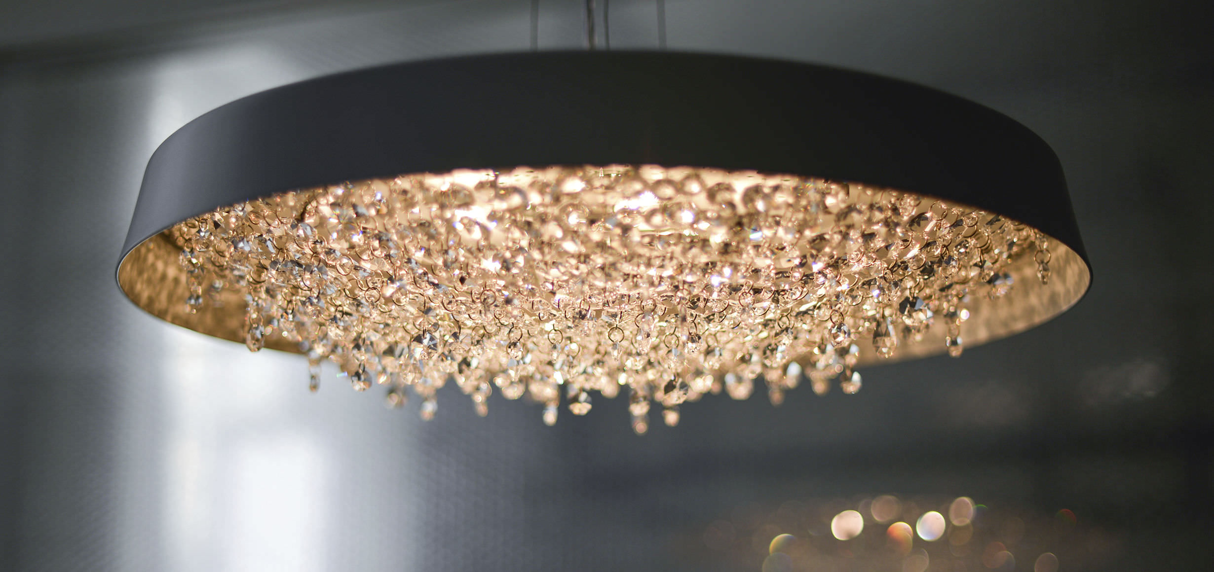 Contemporary chandelier crystal handmade tondo manooi contemporary chandelier crystal handmade aloadofball Images