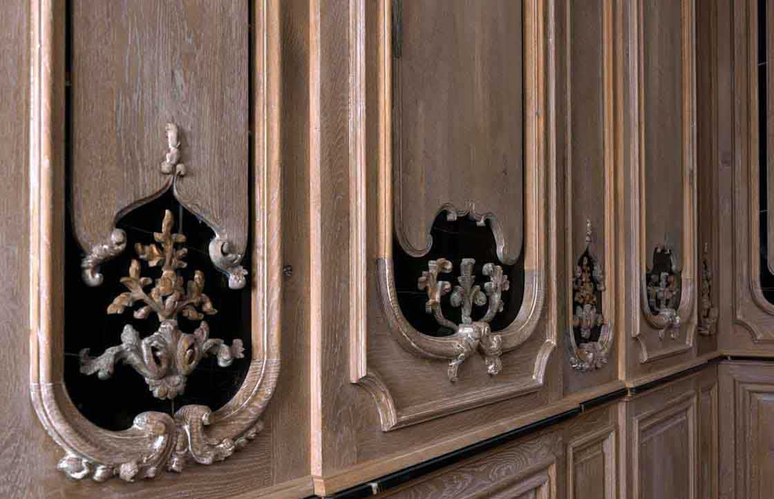 Decorative Wall Molding decorative panel / marble / wood / wall-mounted - boiserie +