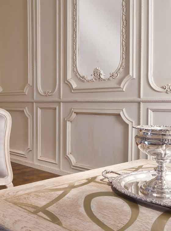 Wood decorative panel / wall-mounted / textured / molding - BOI: 102 ...