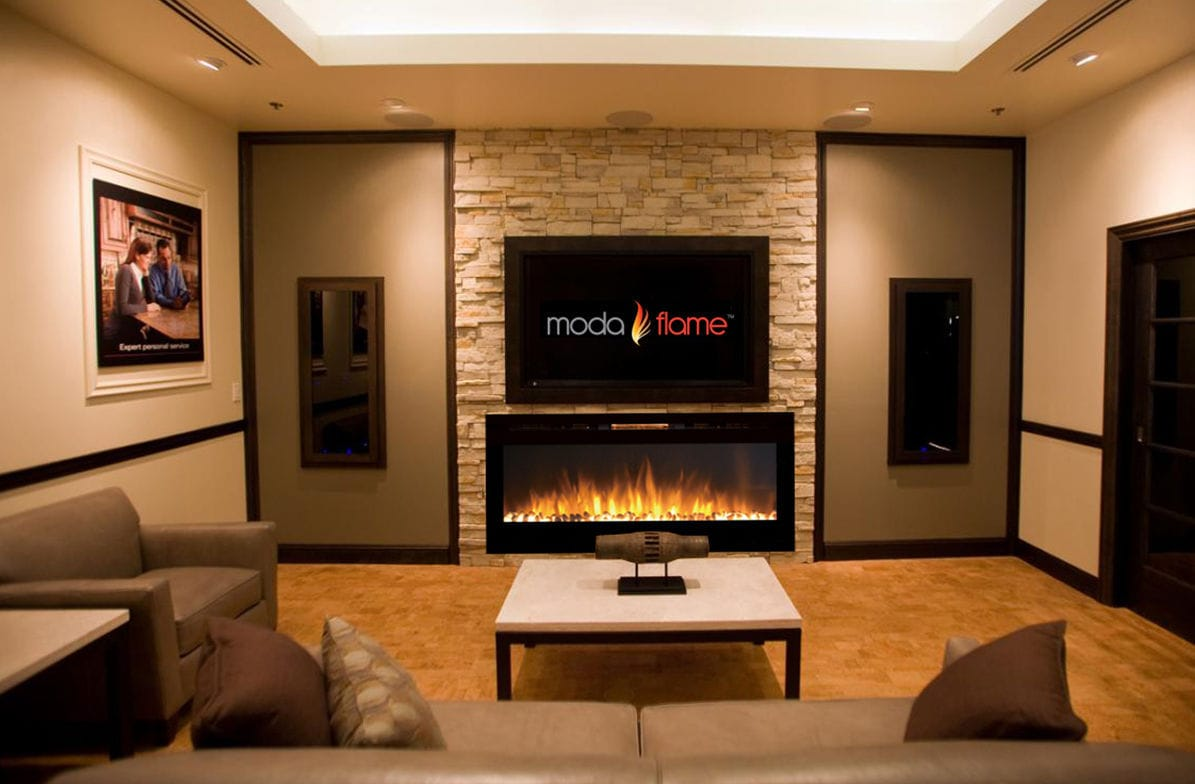 electric fireplace  contemporary  closed hearth  builtin  -  electric fireplace  contemporary  closed hearth  builtin cynergymoda flame