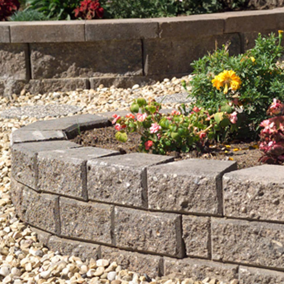 Beau Garden Edge / Stone / Rectangular   YARDSTONE