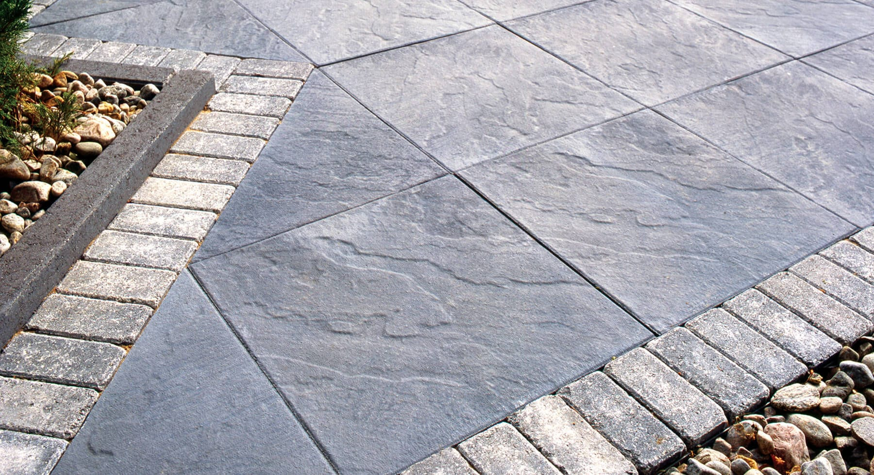 Concrete Paving Slab / Anti Slip / Textured / Outdoor ...