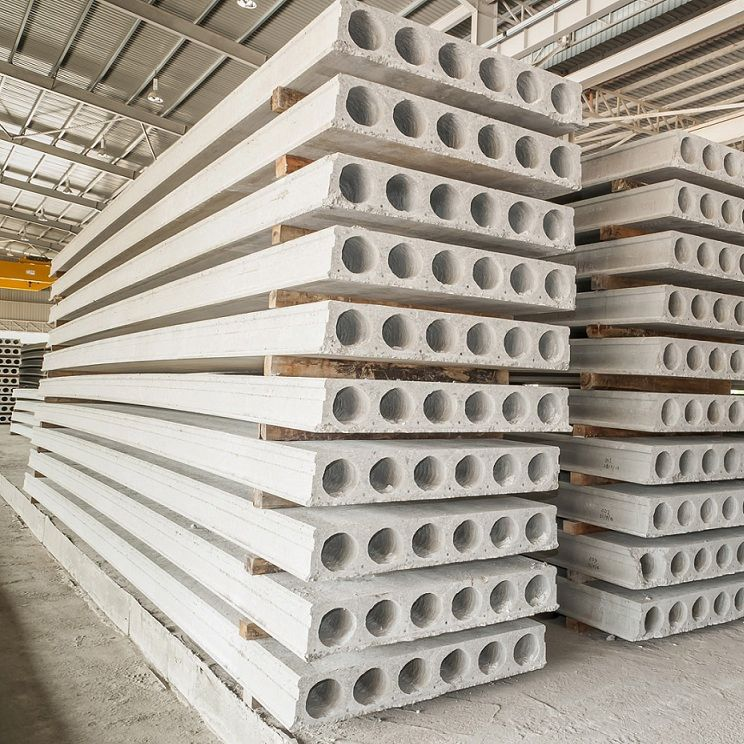 Concrete Deck Slab / Prestressed Concrete / Alveolar