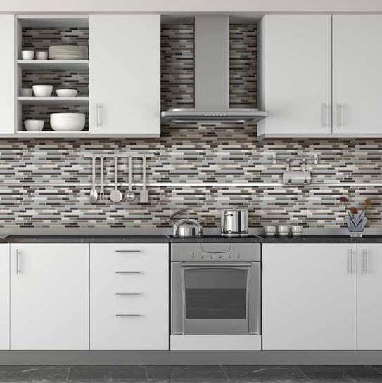 Indoor mosaic tile / kitchen / floor / glass - ENDEAVORS - Daltile