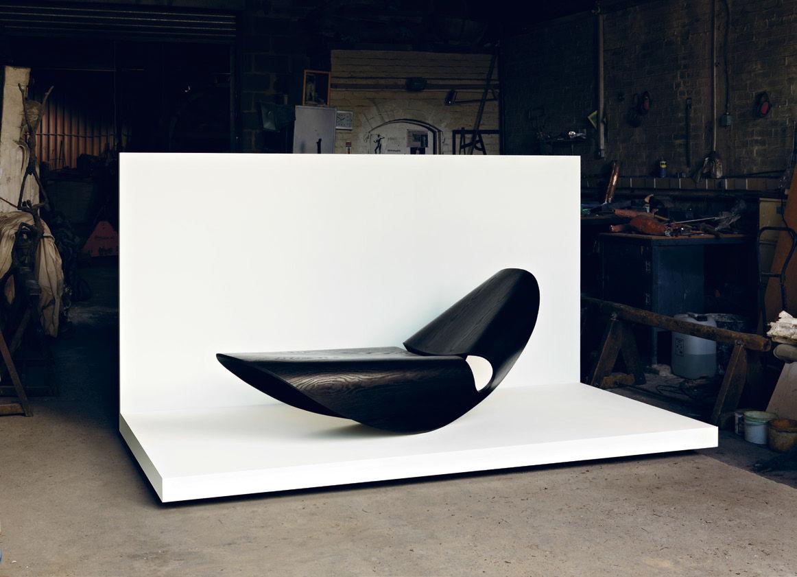 Original design chaise longue / ash - COWRIE ROCKER - Made in Ratio