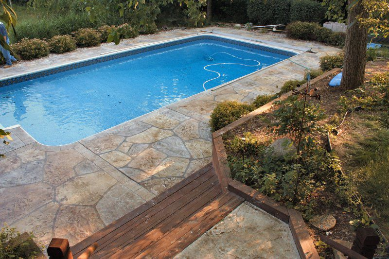 Protective Coating Outdoor For Swimming Pools For Concrete Extraordinary Backyard Flooring Options Property