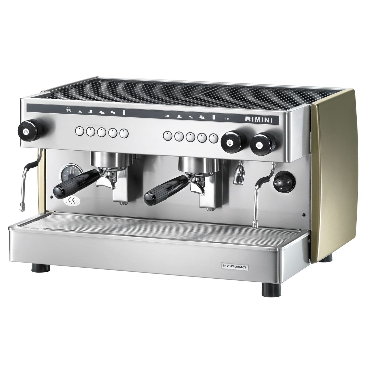 Electronic Coffee Machines Industrial espresso coffee machine commercial automatic 2 group futurmat rimini