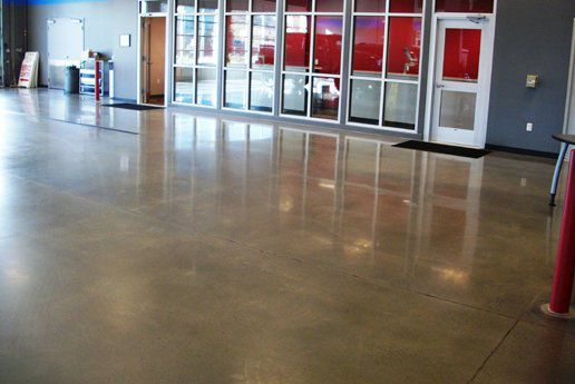 ... Concrete Flooring Mercial High Gloss Waxed Concrete Look Lythic Day1  Lythic ...