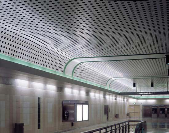 Metal Suspended Ceiling / Panel / Perforated