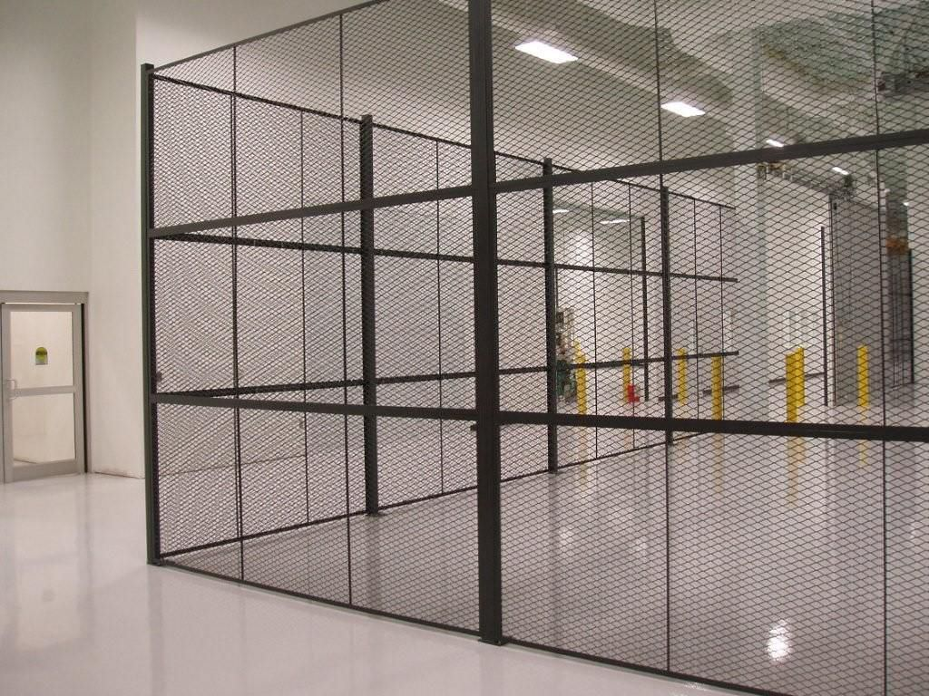 Wire partition wall mesh / steel / diamond mesh - SECURA - AMICO ...