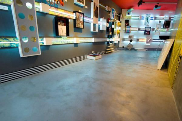Concrete Flooring Smooth Look Non Slip