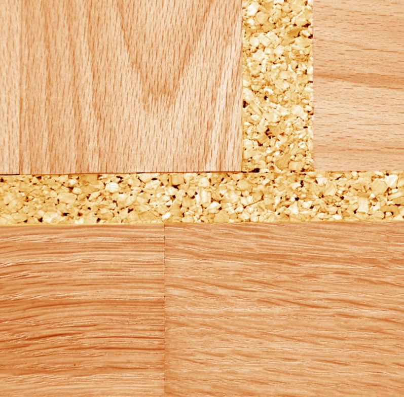 Natural Cork Expansion Joint Floor