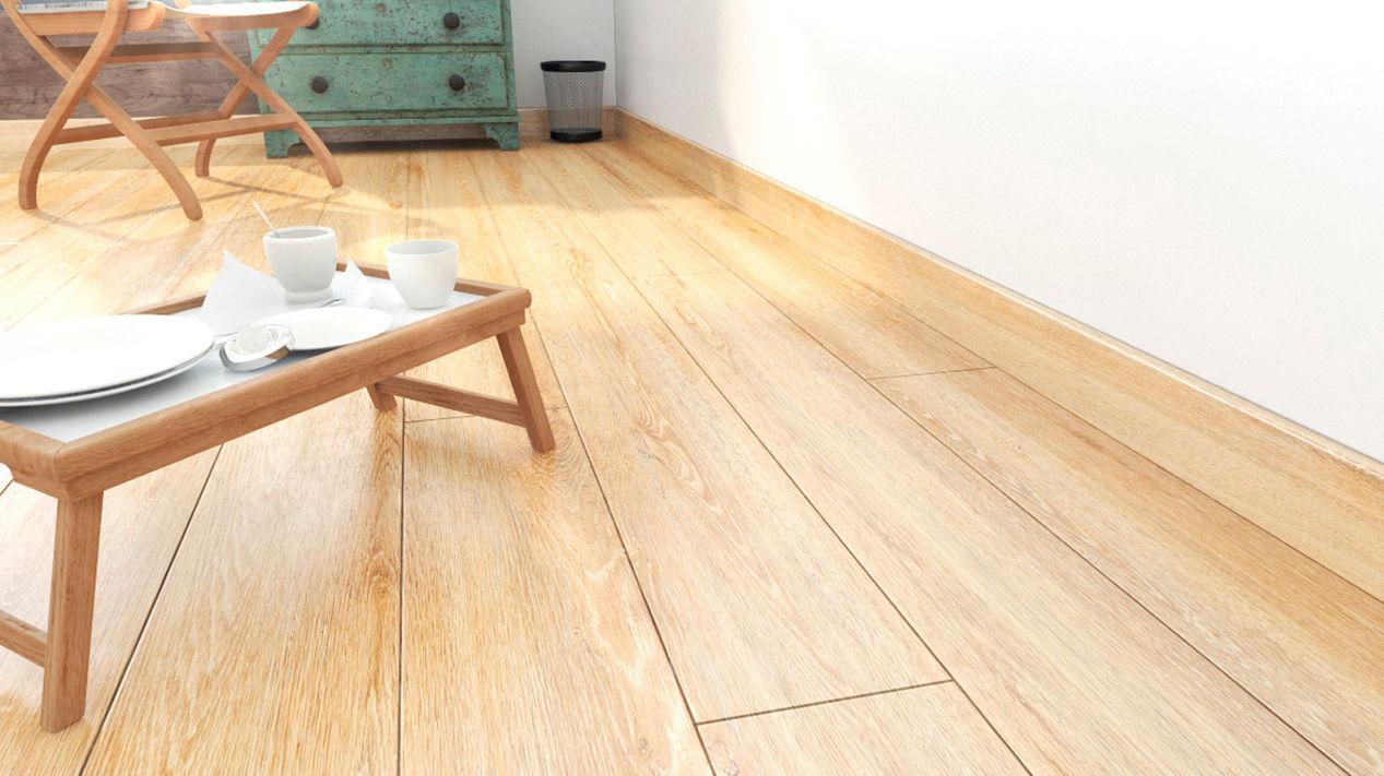 Walnut Laminate Flooring Clip On Wood Look Residential