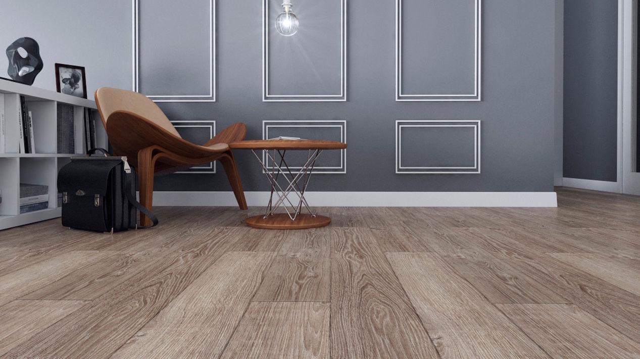 Wooden Laminate Flooring Glued Residential Commercial K301