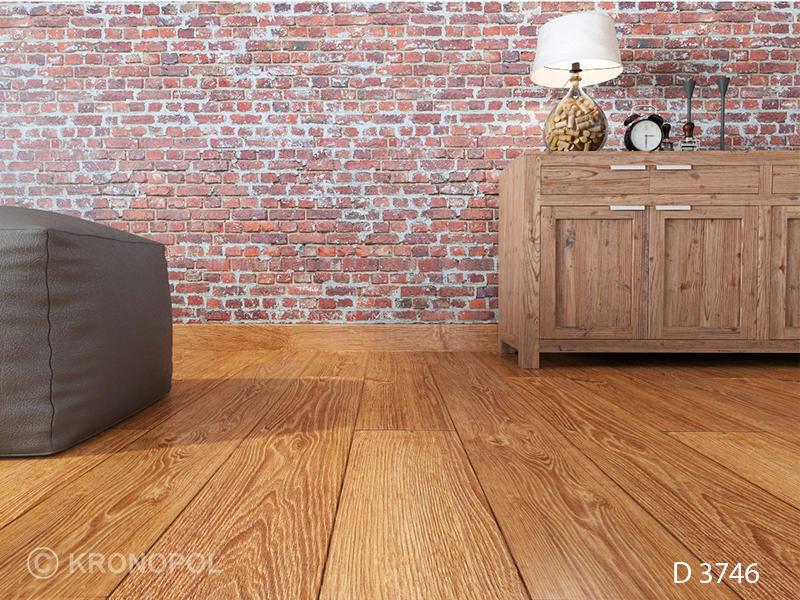 Oak Laminate Flooring Clip On Wood Look Home D 3746
