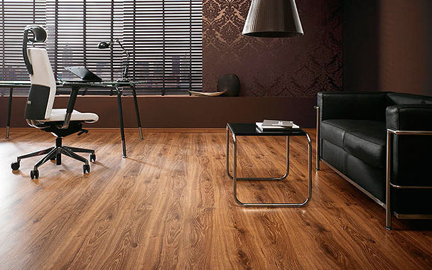Oak Laminate Flooring Clip On Wood Look Residential D 2598